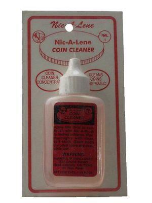 Nic-A-Lene Coin Cleaner 1.25 oz Bottle