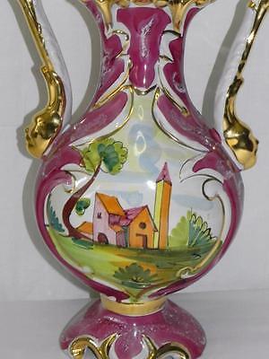 sch ne keramikvase keramik vasen vase prunkvase prunkvasen gold verziert eur 65 00 picclick de. Black Bedroom Furniture Sets. Home Design Ideas