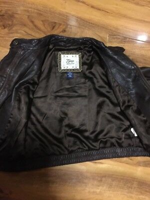 Gap Girls Real Leather Jacket Aged 4-7 Years Old 10