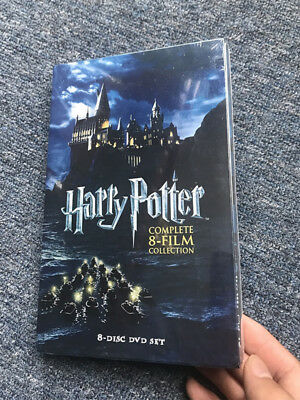 Hot UK Harry Potter Complete New 1-8 Movie DVD Collection Films Box Sets 5