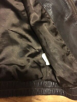 Gap Girls Real Leather Jacket Aged 4-7 Years Old 12