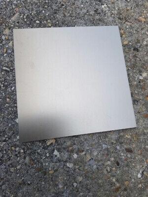 "6"" x 6"" Black Outdoor UV Stable .025"" Anodized Aluminum Sheet Metal, 22 Gauge 2"