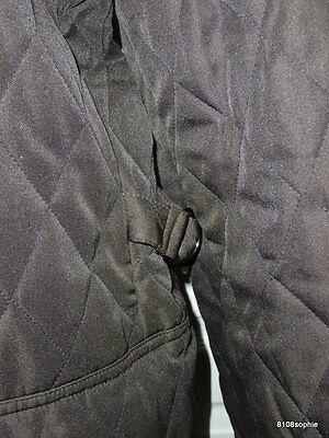 7 sur 11 BURBERRY Manteau matelassé marron intérieur tartan 44 XL quilted  coat d03383b9e979
