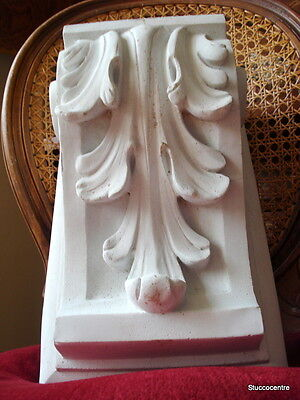 talla estuco de Fachada 105-11152B Consola de hormigón Estuco fachada estuco