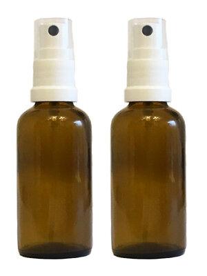 Apotheker-Sprühflaschen Braunglas Zerstäubereffekt 8 teilig 100 ml Glasflaschen 3