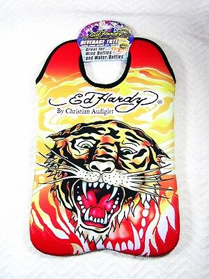 Large Brand New Ed Hardy Tiger Tote by Christian Audigier