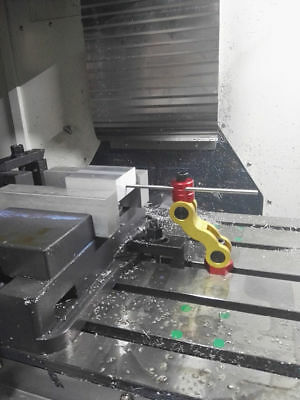 VISE STOP 5 Axis movement mill work stop part locator- HAAS