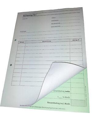 2x50 Blatt SD,Regiebericht,Rapport 1x DIN A5 Stundennachweis 22432