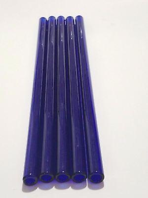Borosilicate Glass Tubing Straws 12mm OD Purple Pink Black Colors Pyrex Tubes 6