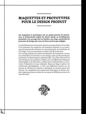 Models and prototypes for product Design, French book 9