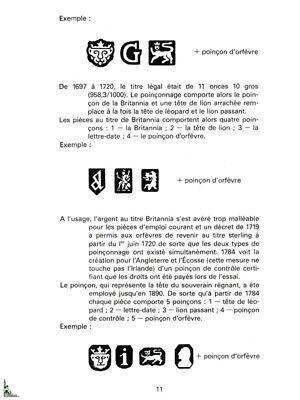 Poinçons d'Argent de France et du monde entier 7