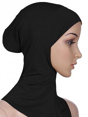 Cotone Mussulmano Copricapo Hijab Interna Cappellini Islamico Scaldacollo Ninja 6
