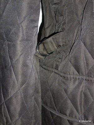 4 sur 11 BURBERRY Manteau matelassé marron intérieur tartan 44 XL quilted  coat 1ece8ca0525f