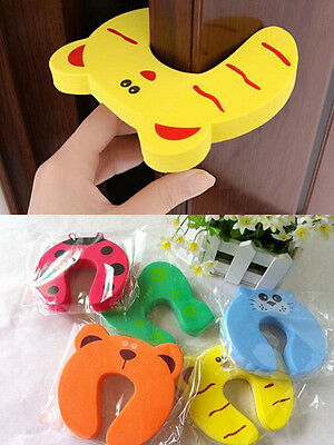 4Pcs Kid Finger Protector Door Stopper Lock Jammers Pinch Guard Babies Safety 3