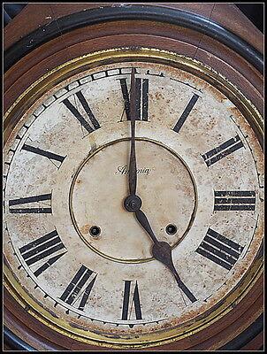 Asonia School Clock Regulator.. Large.Vintage. 2
