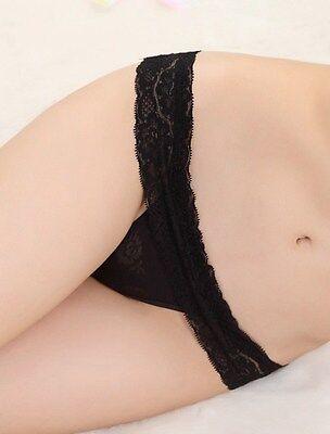 Sexy Panty Pofrei schwarz/weiß  oder rosa/rot Doppelpack onesize XS - M 2