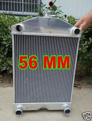 "Radiator &fan Ford 2N/8N/9N Tractor W/Flathead V8 2x1"" Tubes 700HP"