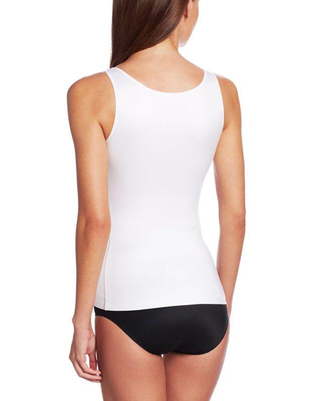 167f602ac4c Women s Slim Tank Top Tummy Control Seamless Camisole Body Shaper Shapewear  Vest 7 7 of 9 ...