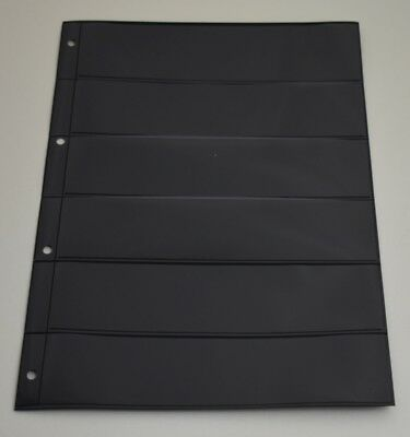 Vario Style black Stock Pages - Double Sided - All Sizes - From 44p page