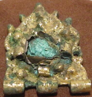 Byzantine, Early Medieval Period Silver GILT Jewelry Mount-Decoration # 42C