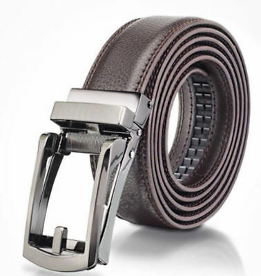 US! COMFORT CLICK Leather Belt Automatic Adjustable Xmas Men Gift As Seen On TV 3