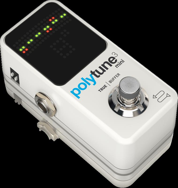 TC Electronic Polytune 3 Mini Guitar Tuner Pedal w/ Bonafide Buffer 2