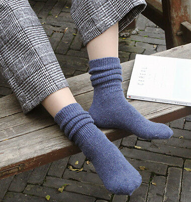 Ladies Beautiful Soft Angora Ankle Socks Comfortable Autumn/Winter Warm Everyday