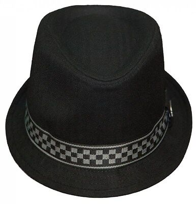 NEW! MEN S DICKIES Fedora Cap 50 s Style Big Band Wise Guy Trilby ... b8d9e53dceb