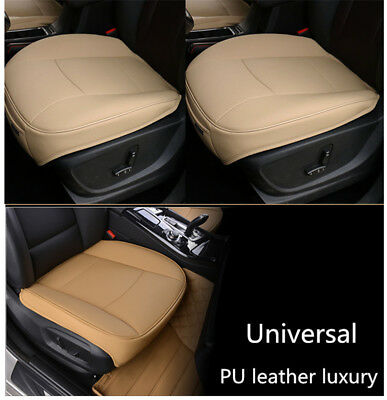 1 Of 11FREE Shipping 1Pc Luxury PU Leather 3D Full Surround Car Seat Protector Cover Accessories