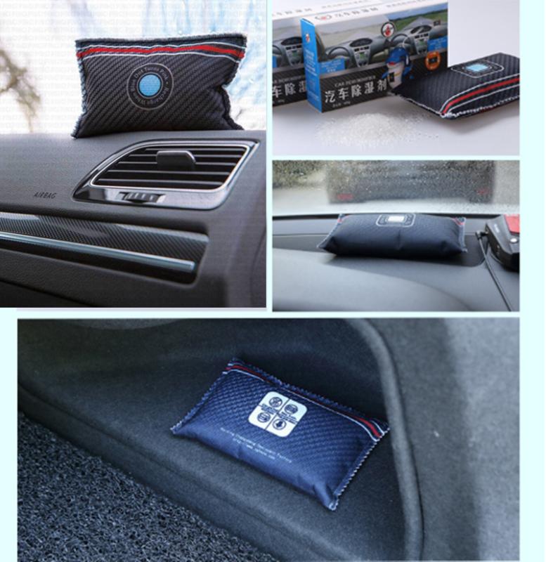 2x Pingi Car Dehumidifier Reusable Anti Mist Moisture Absorbing Bag Useful 2