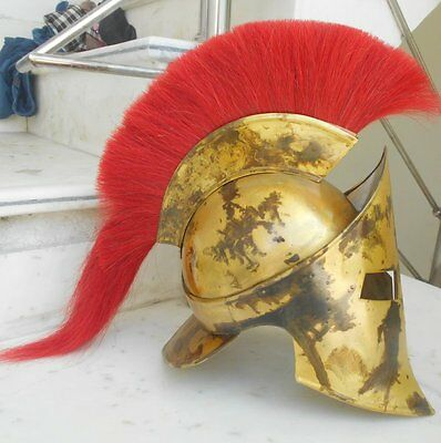 Medieval 300 Spartan King Leonidas 300 Movie Halloween Helmet Replica Role Play 3