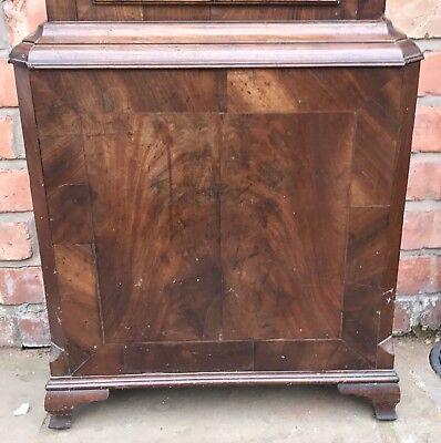 Antique 8 Day Mahogany Longcase Grandfather Clock J. BEECROFT LITTLE LEIGH 4