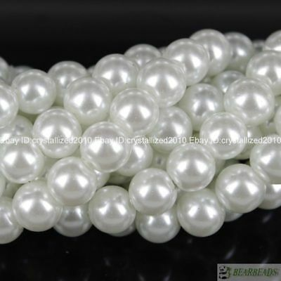 100pcs Top Quality Czech Glass Pearl Round Beads 3mm 4mm 6mm 8mm 10mm 12mm 14mm 2