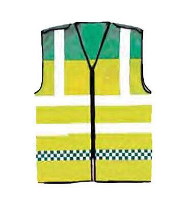 PARAMEDIC EMT Vest Hi Visibility Ambulance Reflective Emergency Waistcoat Viz 2