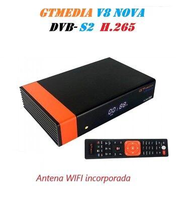Gtmedia V8 Nova (New V8 Super) DVB-S2 Satellite TV Receiver Built Wifi Full HD 2