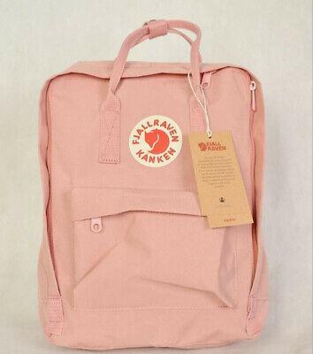 7L/16L/20L Fjallraven Kanken Canvas Backpack Sport Travel Shoulder Bag Rucksack 4