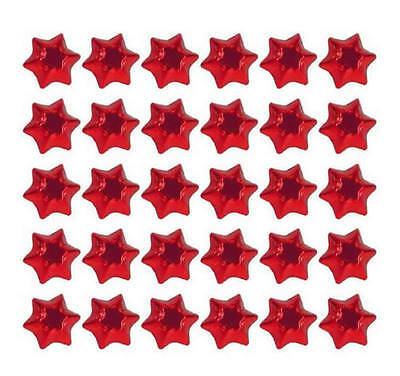 400 Silver Gold Red And Green Milk Chocolate Stars-Christmas Parties Promotions 3