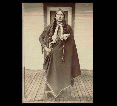 Chief Quanah Parker PHOTO Comanche Indian Native American Chief 2