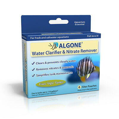 Aquarium Nitrate Remover  And Water Clarifier Algone The Best You Can Get! 2