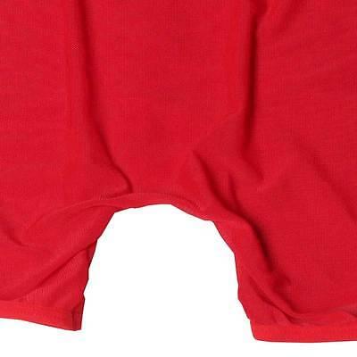 Boxer long rouge transparent tour de taille 65-100 cm sexy Uzhot by neofan S16 8