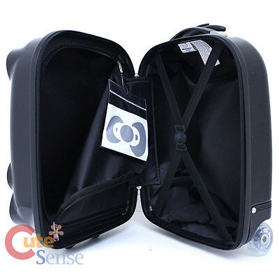 fc339be84c09 ... Hello Kitty Rolling Luggage ASB Trolley Bag Hard Suit Case  Black Face  Bow 18