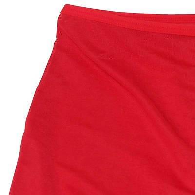 Boxer long rouge transparent tour de taille 65-100 cm sexy Uzhot by neofan S16 7