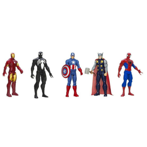 30cm Marvel The Avengers Superheld Spiderman Action Figur Figuren Iron Man Thor 7