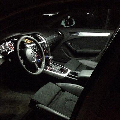 Audi A4 B8 Full Led Interior Premium Set 14 Smd Bulbs White Error