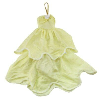 """Light Yellow Fashion Dress For 11.5"""" 1/6 Doll Clothes Outfits Princess Gown Toy 3"""