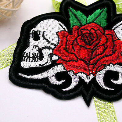 New Embroidered Applique Iron On Patch design DIY Sew Iron On Patch Badge pick 4
