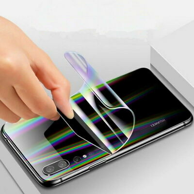 For Huawei P30 Pro P30 Lite HYDROGEL Full Coverage Screen Protector Film Gurd 12