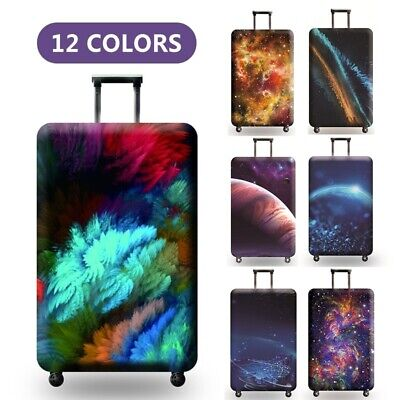 Travel Luggage Cover Galaxy Starry Elastic Anti-Scratch Suitcase Dust Protector 2