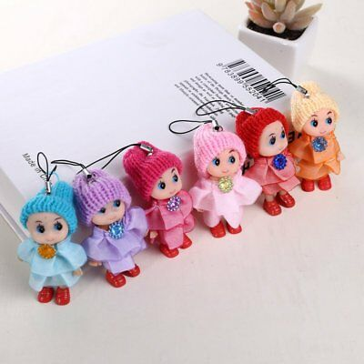 5Pcs Kids Toys Soft Interactive Baby Dolls Toy Mini Doll For Girls and Boys Gift 2
