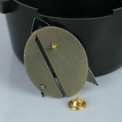 Star Trek Picard Combadge Rank Pips Set Command Science Engineering Pin Brooch 9